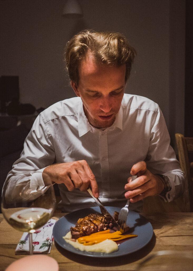Glodna Daga, obiady czwartkowe, kolacje, przepis na kaczke
