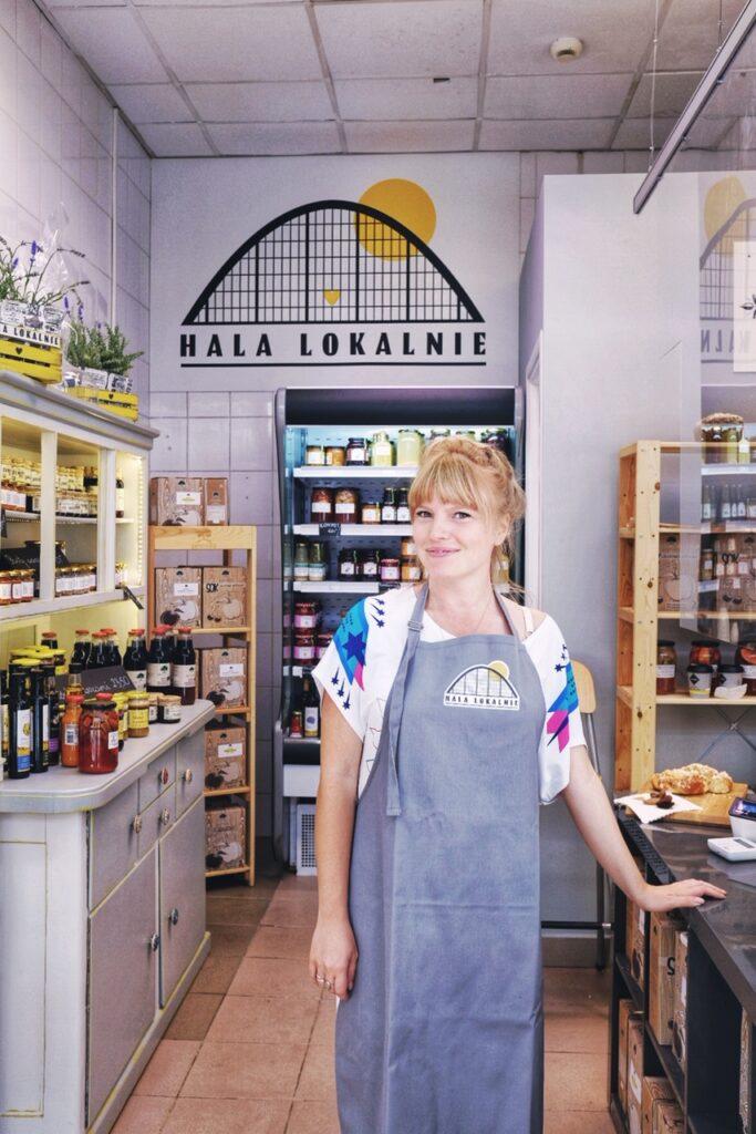 Hala Lokalnie, chleb rzemieślniczy, gdzie kupić chleb w Gdyni, Sztuka Chleba, Zosia Brunka