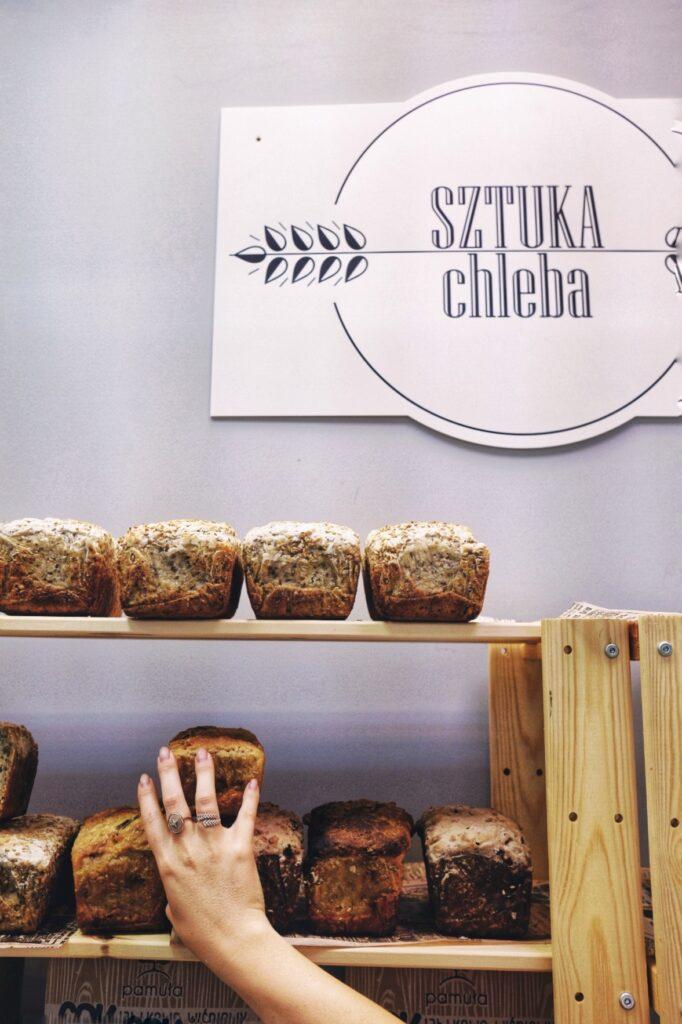 Hala Lokalnie, chleb rzemieślniczy, gdzie kupić chleb w Gdyni, Sztuka Chleba, Zosia Brunka, Glodna, Dagmara Rosiak