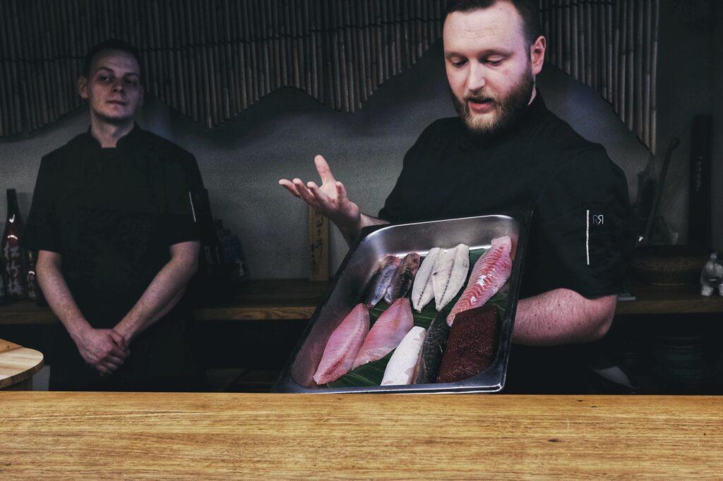 Sushiya Kielce, najlepsze sushi, omakase, Michał Kostrzewa