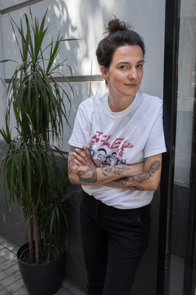 Maria Przybyszewska - sesja portretowa do wywiadu