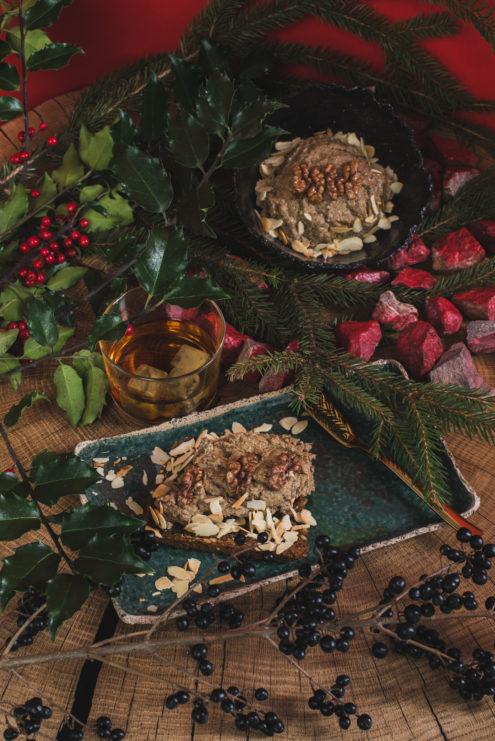 Świąteczne pâté grzybowe