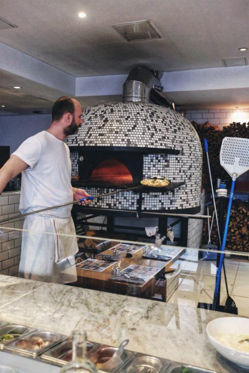najlepsza pizza neapolitanska, gdzie na pizze w warszawie, najlepsza pizza warszawa, pizza neapolitańska, piec opalany drewnem, maka i woda